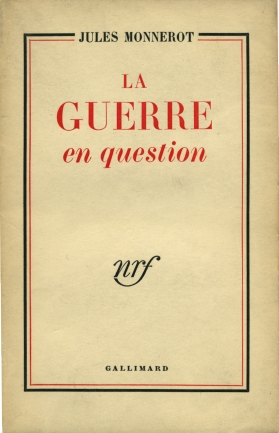 couverture du livre La guerre en question