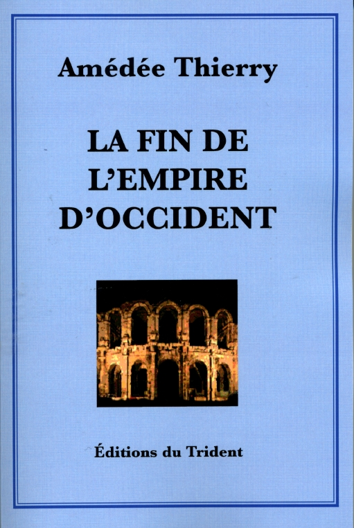 Couverture du Livre La Fin de l'empire d'occident